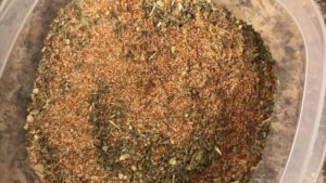 blackened spice mix