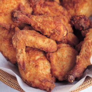 crispy southern oven fried chicken