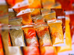 bagged spices