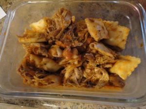 Fusion Baharat Chicken and Ravioli