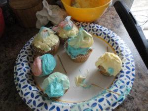 Zoey's Banana Cupcakes
