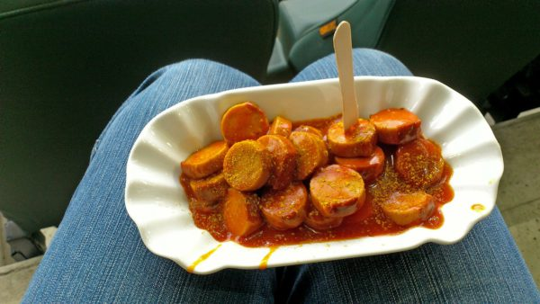 Homemade Currywurst
