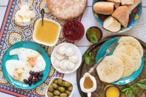 Moroccon Breakfast Dishes