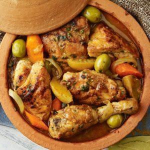 spiced chicken tagine