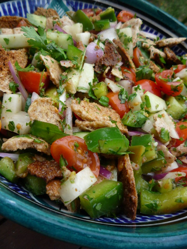 Simple Fattoush Salad