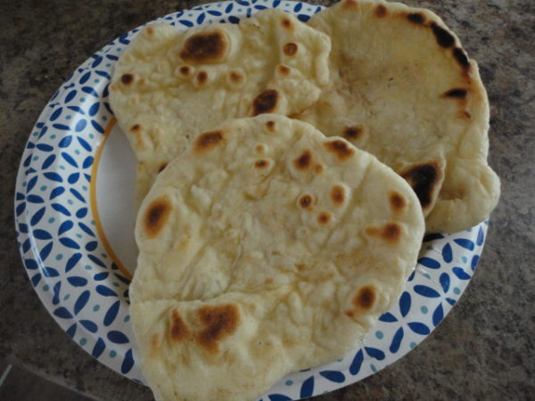 Simply Homemade Naan Bread