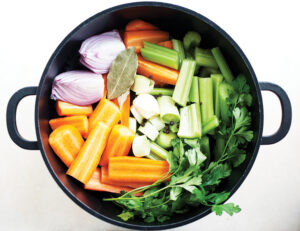 veggie broth